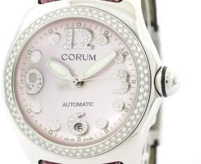 Corum Bubble 082.157.47 Stainless Steel & Diamond Automatic 45mm Mens Watch