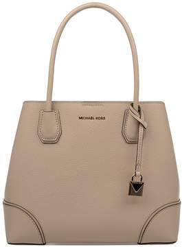 Michael Kors Oat Annie Hammered Leather Top Handle Bag - NATURAL - STYLE