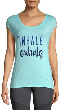 Gaiam Women's Dani Inhale Exhale Tee