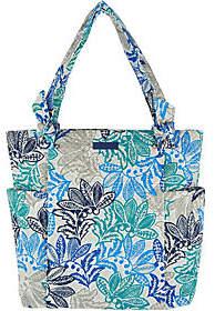 Vera Bradley Signature Print Hadley Shopper Handbag