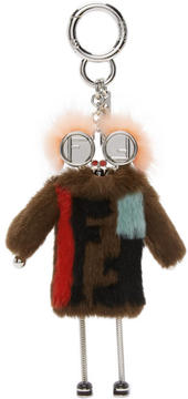 Fendi Multicolor Teen Witches Bag Charm