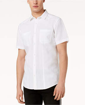INC International Concepts I.n.c. Men's Solid Pocket Shirt, Created for Macy's