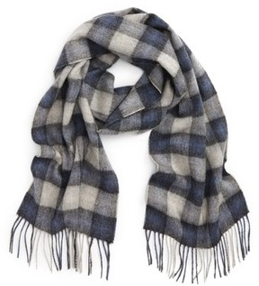 Barbour Men's Gowan Check Wool & Cashmere Scarf