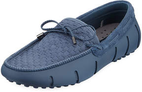 Swims Men's Woven Lace Boat Shoes