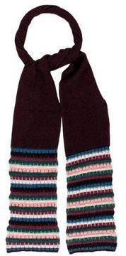 M Missoni Striped Wool Scarf