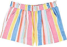 Nautica Girls' Pull-On Striped Short (8-16)