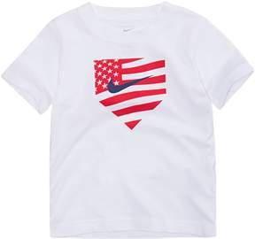Nike Boys 4-7 Americana Baseball Logo Graphic Tee