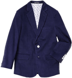 Nautica Boys' Dark Blue Pique Jacket