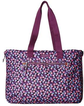 Vera Bradley Lighten Up Expandable Tote Tote Handbags - BERRY BURST - STYLE