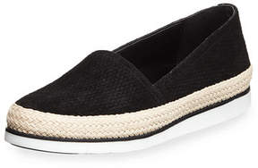 Donald J Pliner Palm Perf Suede Slip-On Sneaker