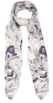 GUCCI Sea Storm-print scarf