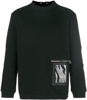 Oamc pocket sweatshirt