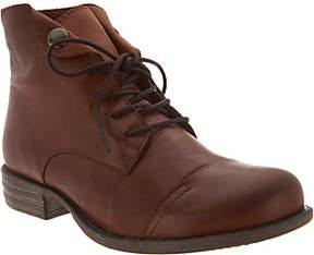 Miz Mooz Leather Lace-up Ankle Boots - Lennox