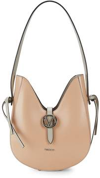 Mario Valentino Valentino by Women's Anny Leather Hobo Bag