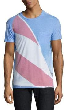 Sol Angeles Marina Welt Colorblock Tee