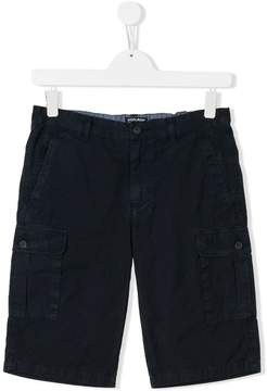 Woolrich Kids TEEN casual cargo shorts