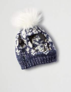 American Eagle Outfitters American Beagle Outfitters Pom Pom Beanie