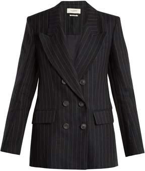 Etoile Isabel Marant Ianey pinstriped linen blazer