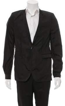 Les Hommes Nylon One-Button Blazer w/ Tags