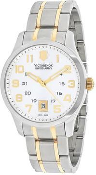 Victorinox Alliance 241324 Men's Two-Tone Stainless Steel Watch