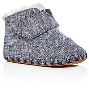 Toms Unisex Cuna Chambray Booties - Baby