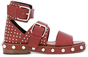 RED Valentino studded sandals