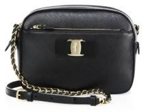Salvatore Ferragamo Lydia Saffiano Leather Crossbody