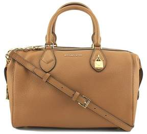 Michael Kors Grayson Large Convertible Pebbled Leather Satchel - Acorn - ACORN - STYLE