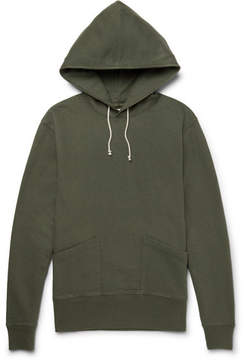 J.Crew Wallace & Barnes Loopback Cotton-Jersey Hoodie
