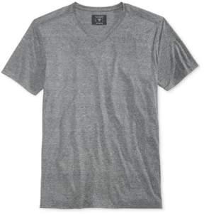 GUESS Mens Jersey V-Neck Basic T-Shirt Black S