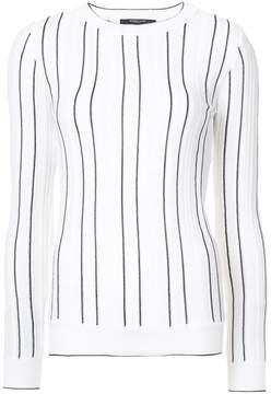 Derek Lam stripe long-sleeve sweater