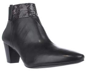 Alfani A35 Palessa Dress Ankle Boots, Anthracite/black.