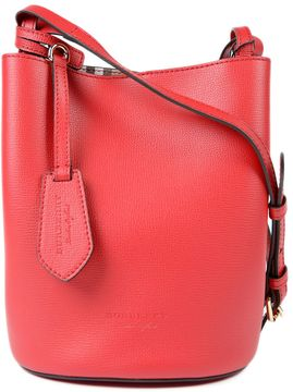 Burberry Small Lorne Shoulder Bag - RED - STYLE