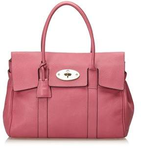 Mulberry Pre-owned: Leather Bayswater.