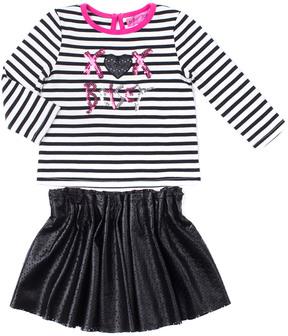 Betsey Johnson Girls' 2Pc Skirt Set