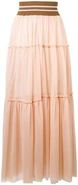 Circus Hotel paneled tulle skirt