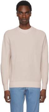 Brioni Off-White Oversized Crewneck Sweater