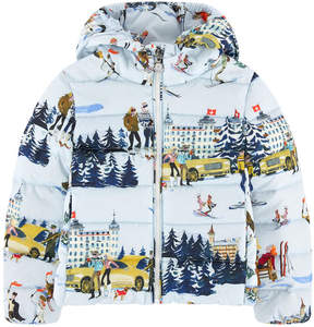Moncler Printed down jacket - Recallis