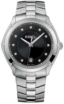 Ebel Classic Sport Black 40 mm Womens Watch