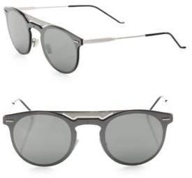 Christian Dior 99MM Round Techno Sunglasses