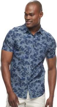 Apt. 9 Men's Slim-Fit Tropical Button-Down Shirt