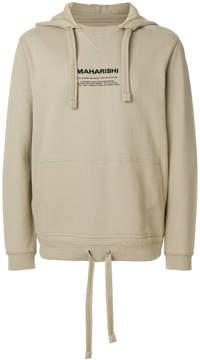 MHI Miltype embroidred hoodie