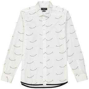 Commune De Paris Smile Printed Button Down Shirt
