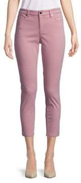 Ellen Tracy Newport High-Rise Cropped Skinny Pants