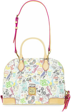 Disney Mouse ''A Walk in the Park'' Zip Satchel by Dooney & Bourke