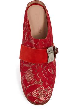 Rachel Comey Flynt Lace Mule Heels