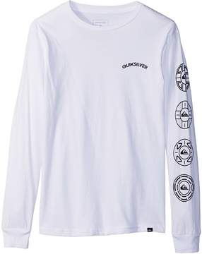 Quiksilver Next Steps Long Sleeve Top Boy's Long Sleeve Pullover