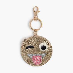 J.Crew Kids' glitter coin purse