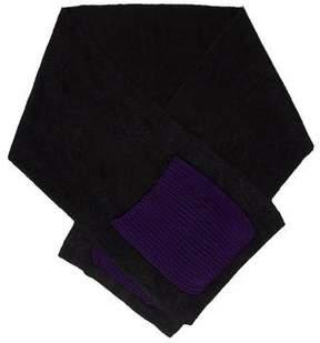 Sonia Rykiel Bicolor Knit Scarf w/ Tags