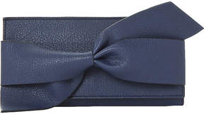 Dune Kbow faux-leather bow detail purse